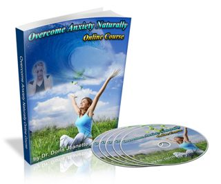 Overcome Anxiety Naturally online course with written lessons and audio.